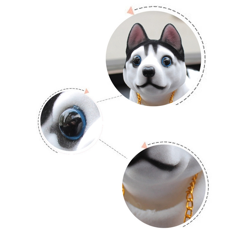 Lucky-Dog-Shaking-Head-Toy-Car-Home-Office-Ornament-U1M5 thumbnail 4
