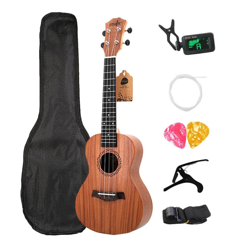 Concert-Ukulele-Kits-23-Inch-Rosewood-4-Strings-Hawaiian-Mini-Guitar-With-B-L5V8