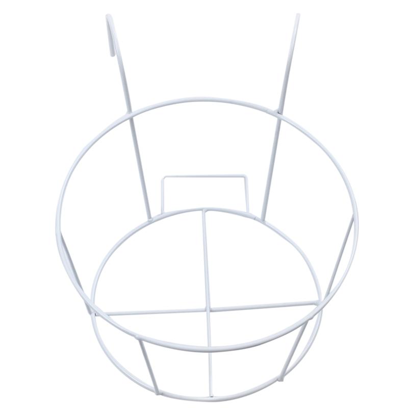 Metal-Iron-Flower-Pot-Hanging-Balcony-Garden-Plant-Planter-Home-Decor-baske-Q3F3 thumbnail 17