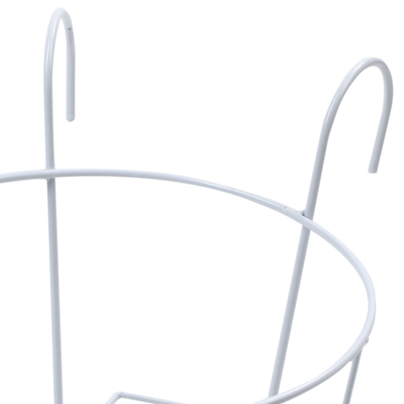 Metal-Iron-Flower-Pot-Hanging-Balcony-Garden-Plant-Planter-Home-Decor-baske-Q3F3 thumbnail 21
