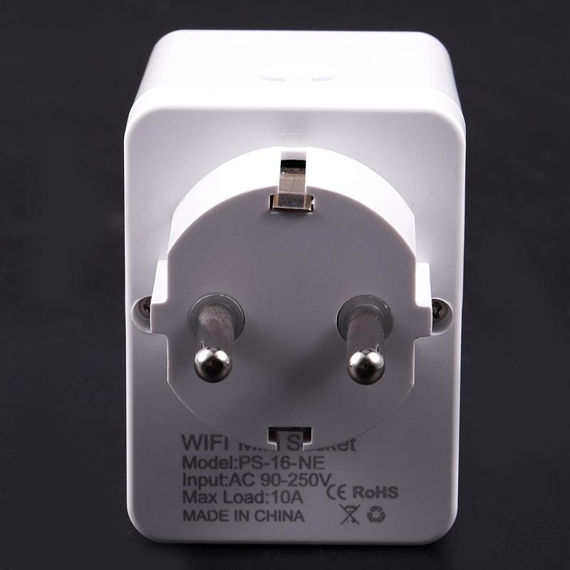 Prise Intelligente Prise de Contrôle Wifi Énergie de Puissance Surveillance  5M7