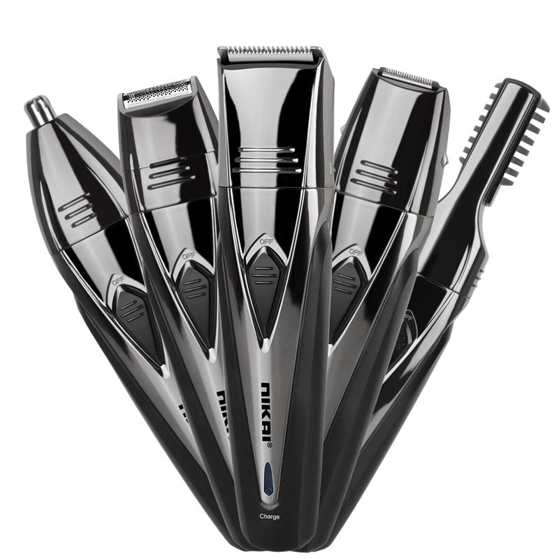 1X-Nikai-Maenner-Elektro-Rasierer-Rasierer-Bart-Haar-Schneide-Maschine-TrimJ6I4 Indexbild 6