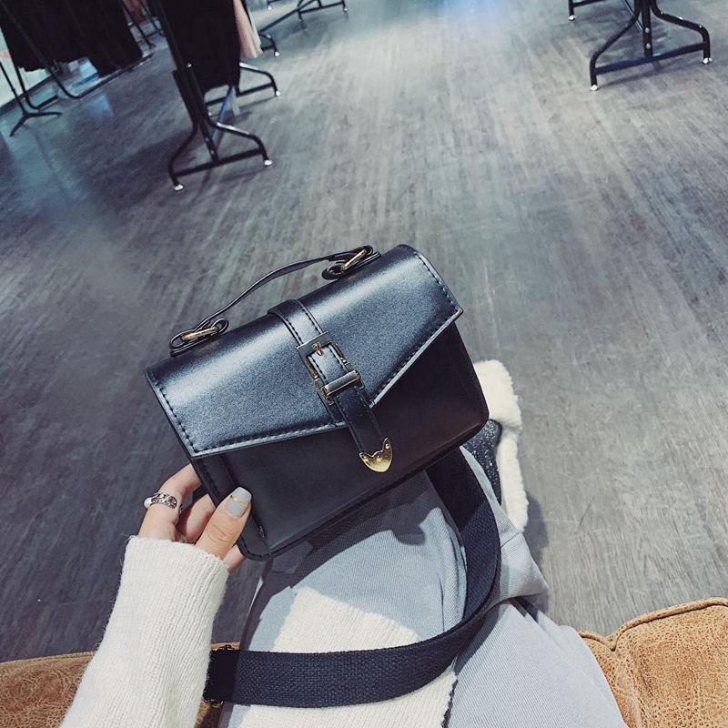 Neue-Hand-Tasche-Umhaenge-Tasche-Mode-Klappe-Kleine-Umhaenge-Taschen-Fuer-F-R9P4 Indexbild 3