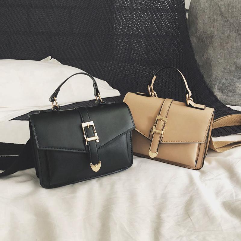 Neue-Hand-Tasche-Umhaenge-Tasche-Mode-Klappe-Kleine-Umhaenge-Taschen-Fuer-F-R9P4 Indexbild 7
