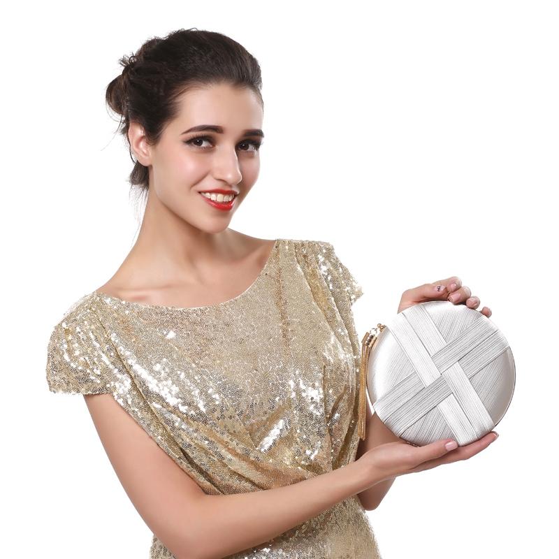 Fashion-Women-Bag-Tassel-Metal-Small-Day-Clutch-Purse-Handbags-Chain-ShouldN5S7 thumbnail 11