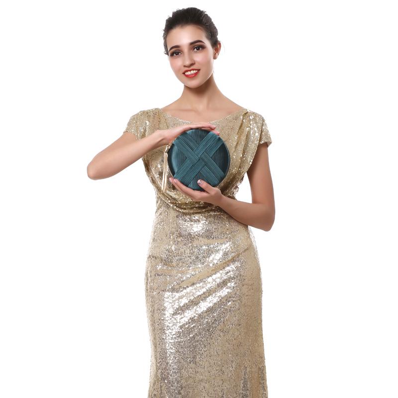 Fashion-Women-Bag-Tassel-Metal-Small-Day-Clutch-Purse-Handbags-Chain-ShouldN5S7 thumbnail 33
