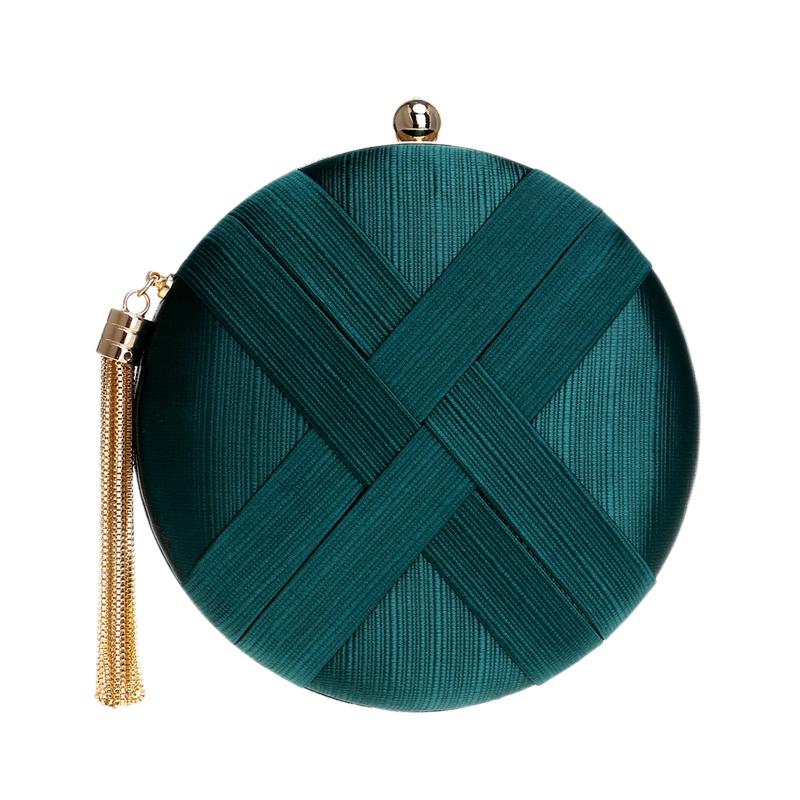 Fashion-Women-Bag-Tassel-Metal-Small-Day-Clutch-Purse-Handbags-Chain-ShouldN5S7 thumbnail 30