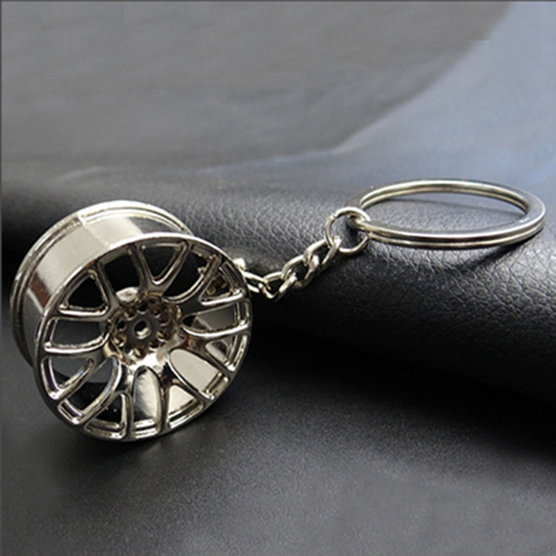 Metal-Keychain-Car-Wheel-Hub-Auto-Logos-Key-Chain-Auto-Repair-Parts-Car-Min-F7Q3 thumbnail 6