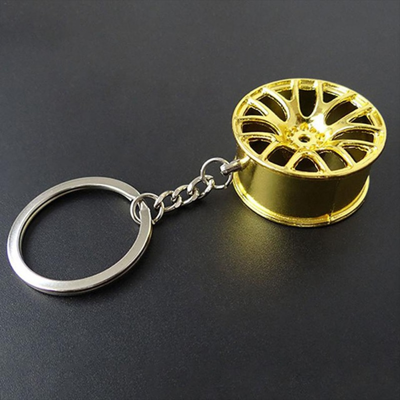 Metal-Keychain-Car-Wheel-Hub-Auto-Logos-Key-Chain-Auto-Repair-Parts-Car-Min-F7Q3 thumbnail 11