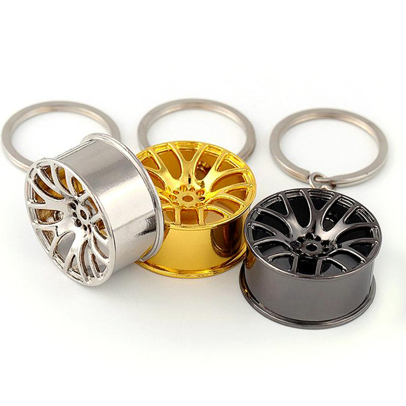 Metal-Keychain-Car-Wheel-Hub-Auto-Logos-Key-Chain-Auto-Repair-Parts-Car-Min-F7Q3 thumbnail 12