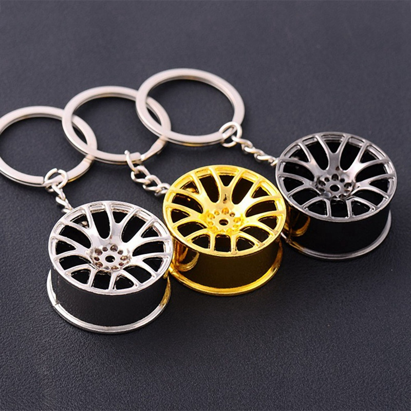 Metal-Keychain-Car-Wheel-Hub-Auto-Logos-Key-Chain-Auto-Repair-Parts-Car-Min-F7Q3 thumbnail 17