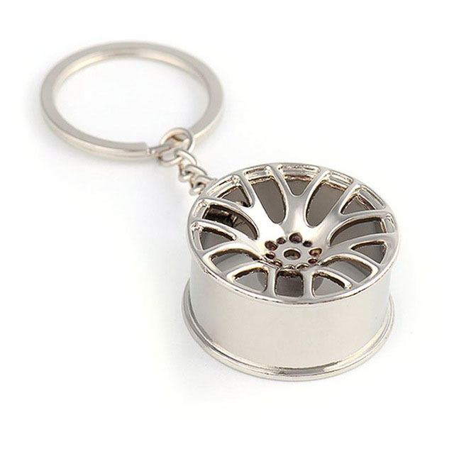 Metal-Keychain-Car-Wheel-Hub-Auto-Logos-Key-Chain-Auto-Repair-Parts-Car-Min-F7Q3 thumbnail 19