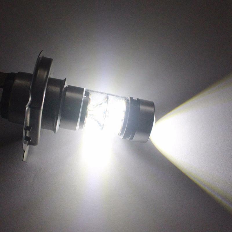 2PZ Fari Della Lampada Della Luce Del Fari Dell/'Automobile Di 100W 20Led De H5D3