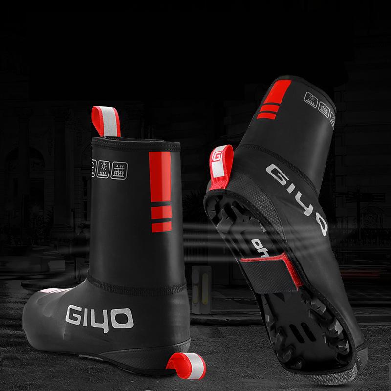 2X-Giyo-Bike-Protector-De-La-Cubierta-Del-Zapato-Zapatillas-Reflectantes-De-X7J1 miniatura 7
