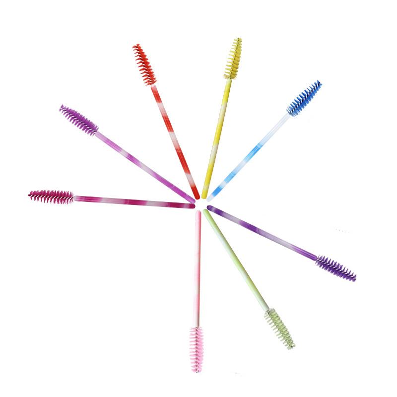 1X-50pcs-Poignee-Jetables-Baguettes-De-Mascara-Sourcil-Applicateur-Cils-Maq-A7W7 miniature 9