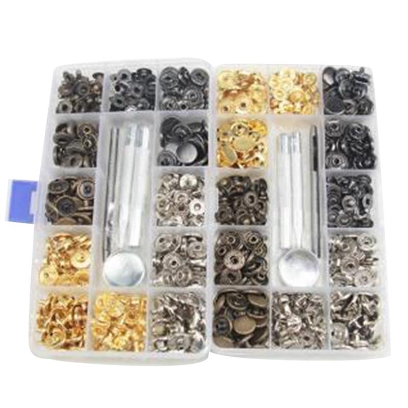Botones-De-Metal-Sin-Coser-Boton-a-Presion-Presionar-Stud-Cuero-De-Cuero-Ar-V8J7