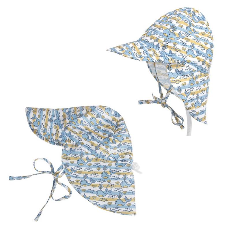 2X-Summer-BEBE-Chapeau-De-Soleil-Enfants-En-Plein-Air-Cou-Oreille-Couvertur-G2C6 miniature 16