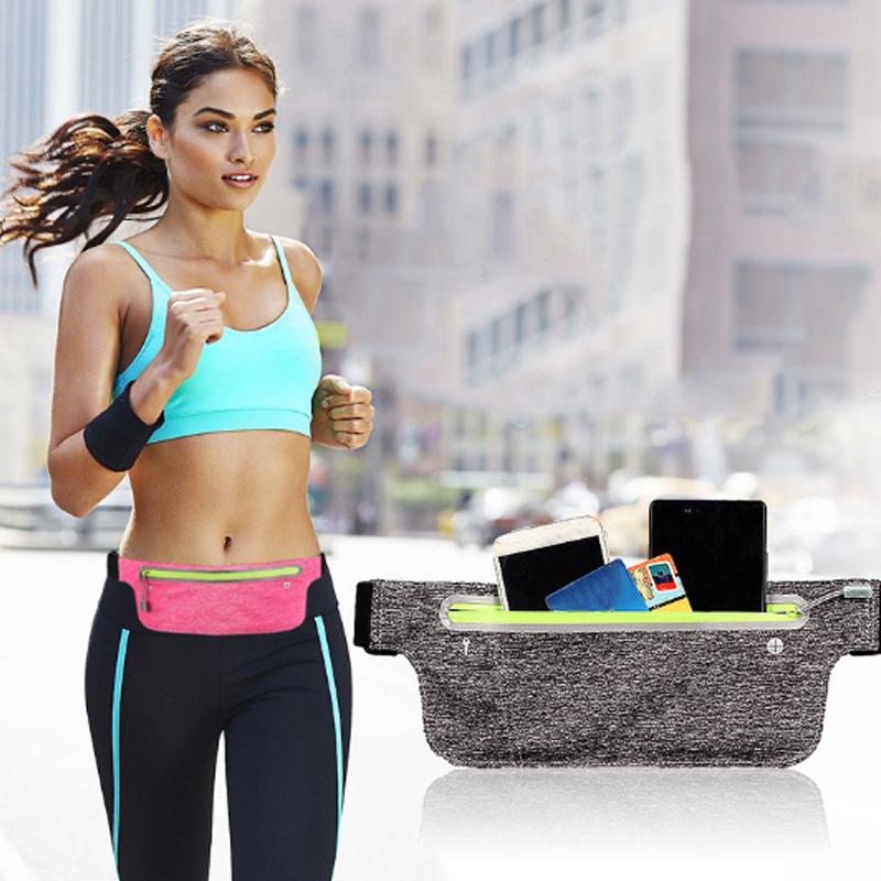 Maenner-Frauen-Outdoor-Sports-Guerteltasche-Packs-Handytaschen-Running-Case-G-G6B8 Indexbild 4