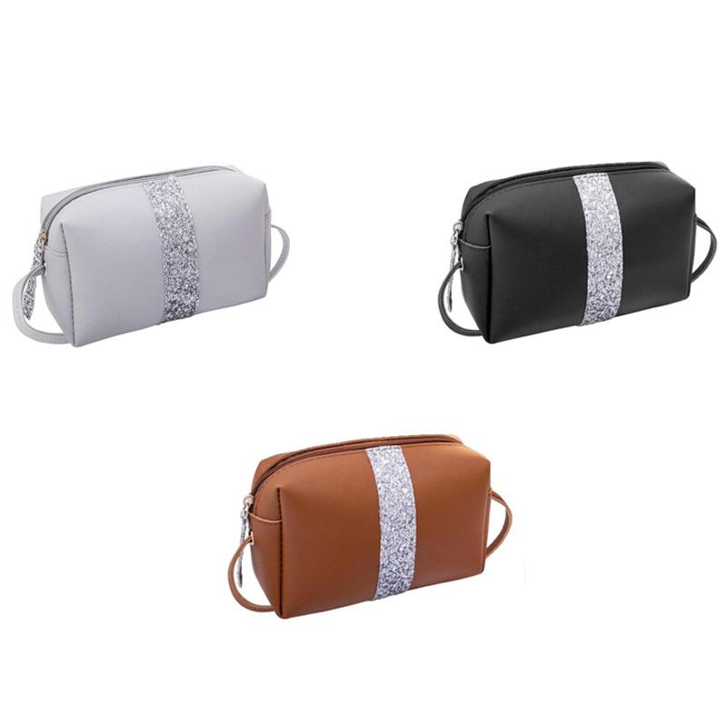 Kleine-Pailletten-Schulter-Umhaenge-Tasche-Damen-Kleine-Dame-Hand-Tasche-Pu-W2C4 Indexbild 8