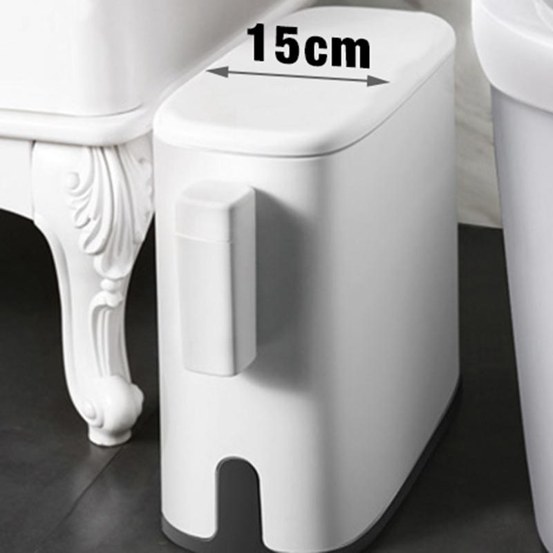 11L-Muelleimer-Bad-Muelleimer-Toilette-Muelleimer-Muelleimer-Muelltuetenhalter-Vo-Z6X1 Indexbild 4