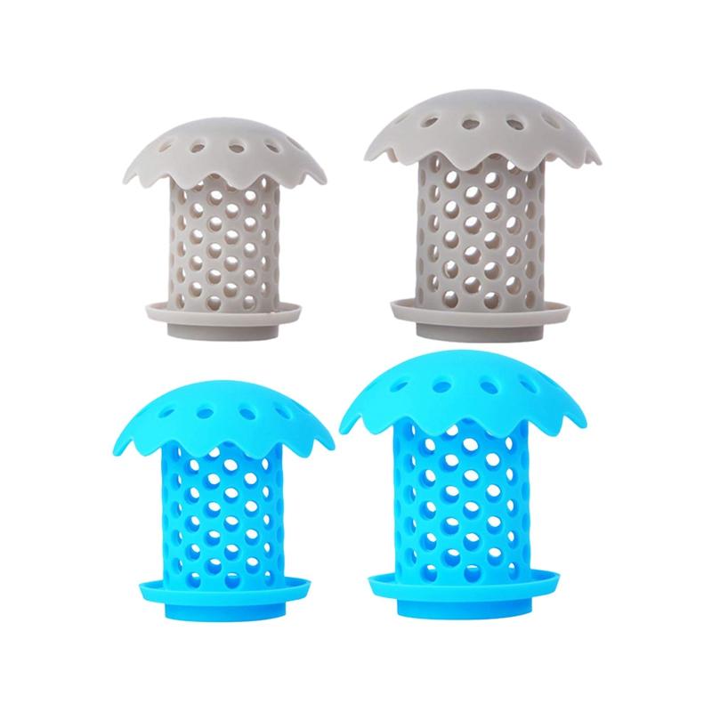 2-Pcs-Bathtub-Sink-Drain-Hair-Catcher-Protector-Strainer-Durable-Bathtub-Sh-Q3L7 thumbnail 9