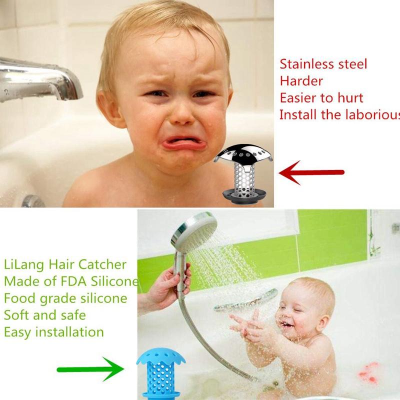 2-Pcs-Bathtub-Sink-Drain-Hair-Catcher-Protector-Strainer-Durable-Bathtub-Sh-Q3L7 thumbnail 15