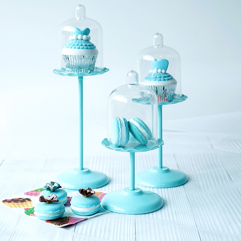 SWEETGO-Cupcake-Holder-With-Pc-Dome-Cake-Tools-Stand-For-Wedding-Party-Table-7B6 miniature 4