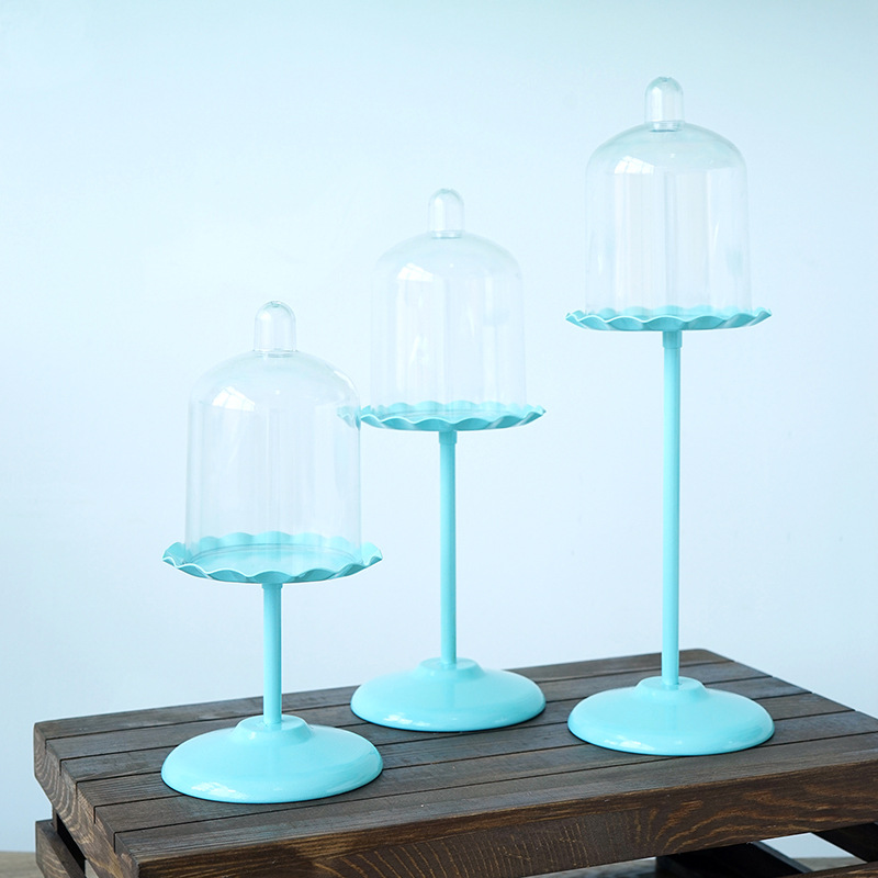SWEETGO-Cupcake-Holder-With-Pc-Dome-Cake-Tools-Stand-For-Wedding-Party-Table-7B6 miniature 5