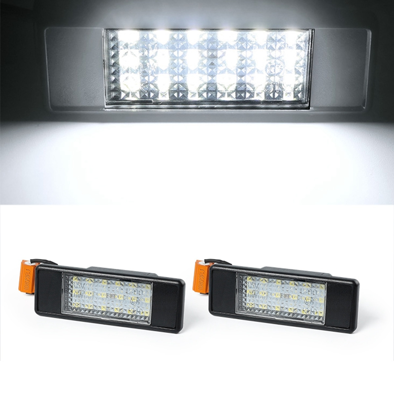 1X-2Pcs-Led-Number-License-Plate-Light-For-Mercedes-Benz-Sprinter-W906-200B9B3 thumbnail 3