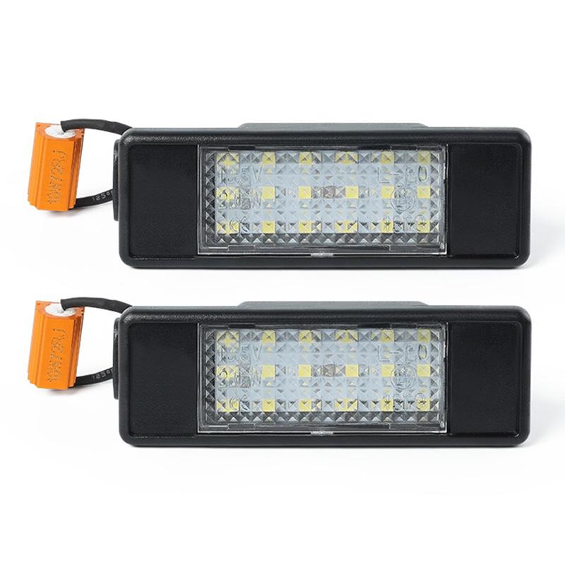 1X-2Pcs-Led-Number-License-Plate-Light-For-Mercedes-Benz-Sprinter-W906-200B9B3