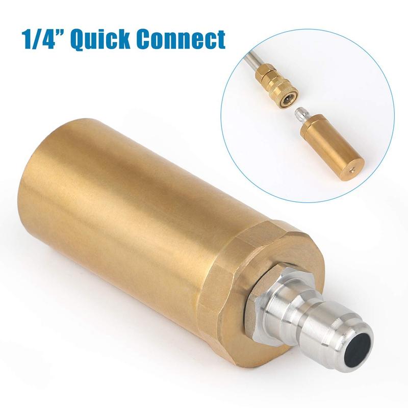 """3,5 2,5 4 GPM Hochdruckreiniger Rotierende Turbodüse 3600 PSI 1//4 /""""Connect"""