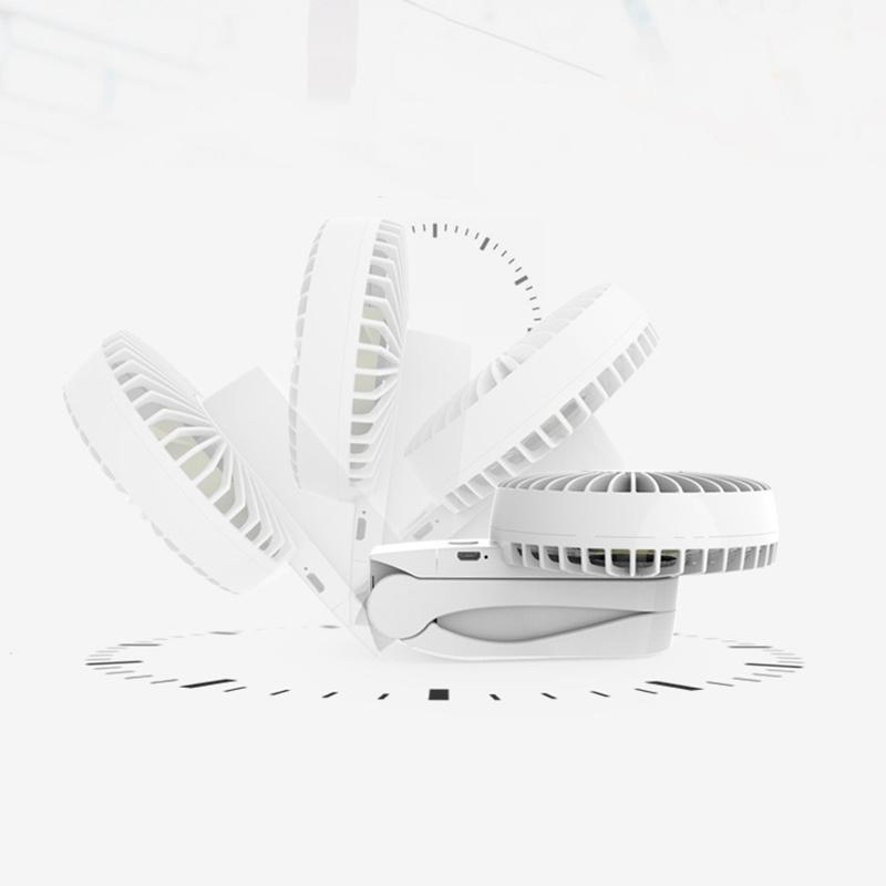4000Mah-Refrigerador-PortATil-Mini-Usb-Fan-4-Velocidades-360-Grados-Rotacio-U5F5 miniatura 7