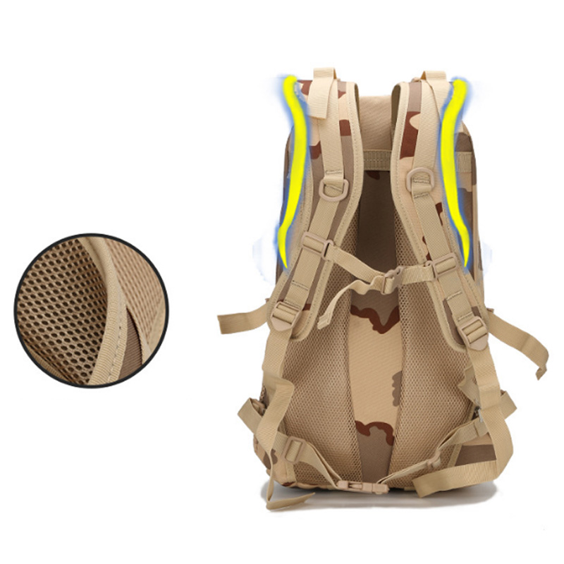 2X-1000D-Oxford-Cloth-Outdoor-Backpack-3D-Sport-Backpack-Bag-Travel-TrekkinV1F7 thumbnail 4