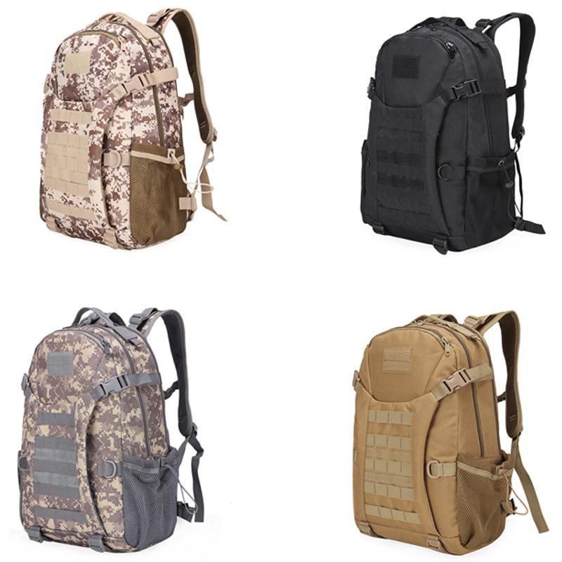 1X-30L-Camuflaje-de-Exterior-Mochila-Mochila-Senderismo-Camping-Bolsas-Resi-O1V6 miniatura 19