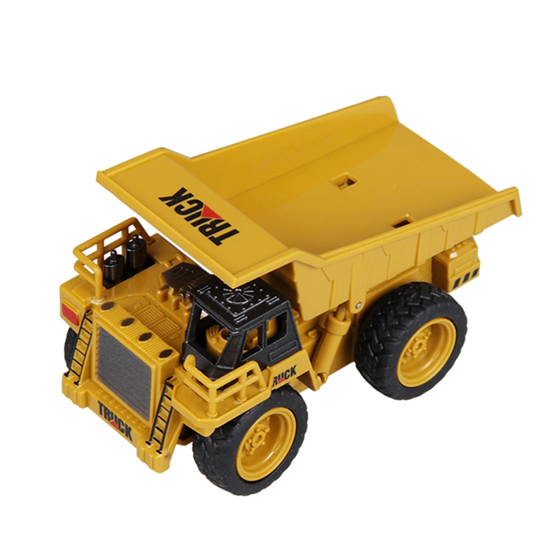 Juguete-De-CamioN-De-Control-Remoto-Bulldozer-GrUA-CamioN-De-GrUA-Juguete-D-B7Z9 miniatura 3