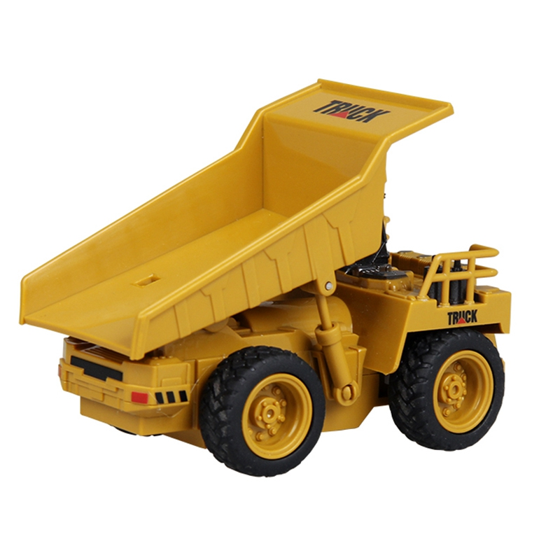 Juguete-De-CamioN-De-Control-Remoto-Bulldozer-GrUA-CamioN-De-GrUA-Juguete-D-B7Z9 miniatura 5