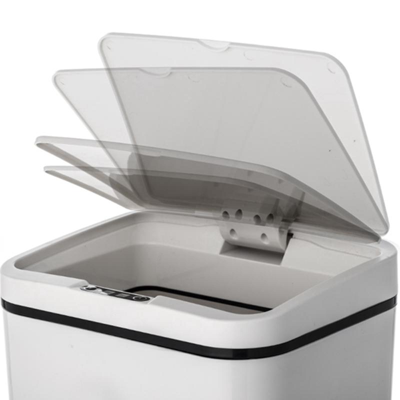 Poubelle-De-Capteur-Automatique-Poubelle-De-Capteur-Intelligent-De-Poubelle-X4D3 miniature 8