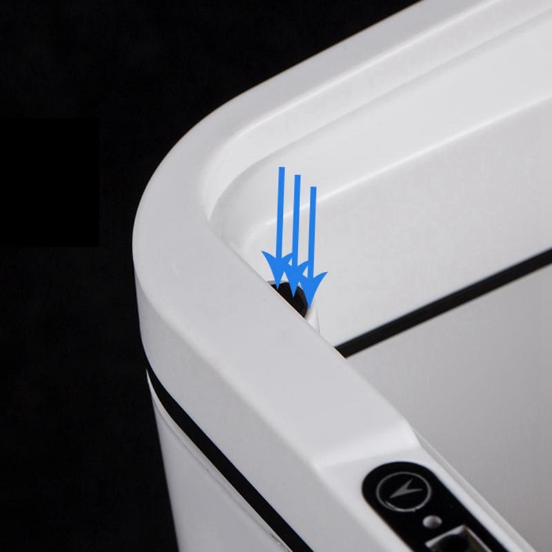 Poubelle-De-Capteur-Automatique-Poubelle-De-Capteur-Intelligent-De-Poubelle-X4D3 miniature 11