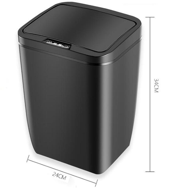 Poubelle-De-Capteur-Automatique-Poubelle-De-Capteur-Intelligent-De-Poubelle-X4D3 miniature 13