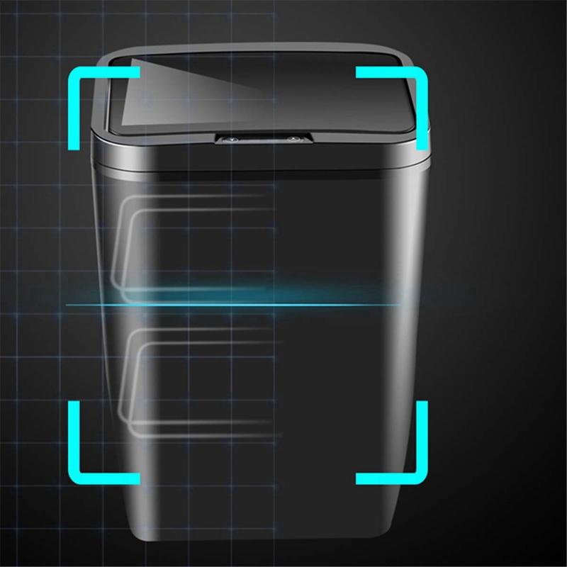 Poubelle-De-Capteur-Automatique-Poubelle-De-Capteur-Intelligent-De-Poubelle-X4D3 miniature 14
