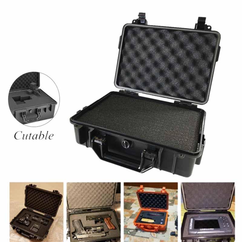 Abs-Etanche-Boite-De-Sechage-Safety-Equipment-Box-Boite-A-Outils-De-Survie-E-8V8 miniature 6