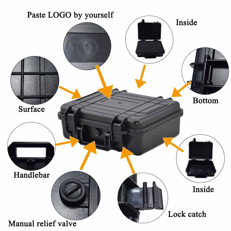 Abs-Etanche-Boite-De-Sechage-Safety-Equipment-Box-Boite-A-Outils-De-Survie-E-8V8 miniature 7