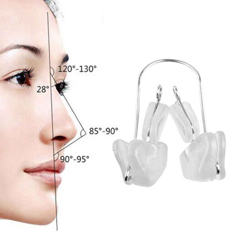 Details about Soft Magic Silicone Nose Bridge Reshaper Clips Nose Up  Reducer Clip Beauty Y1G5