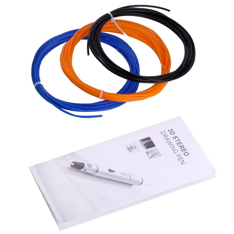 3D-Pluma-Scribble-Pluma-Pluma-Del-Filamento-Del-ABS-Impresora-3D-Pluma-Regalo-De miniatura 8