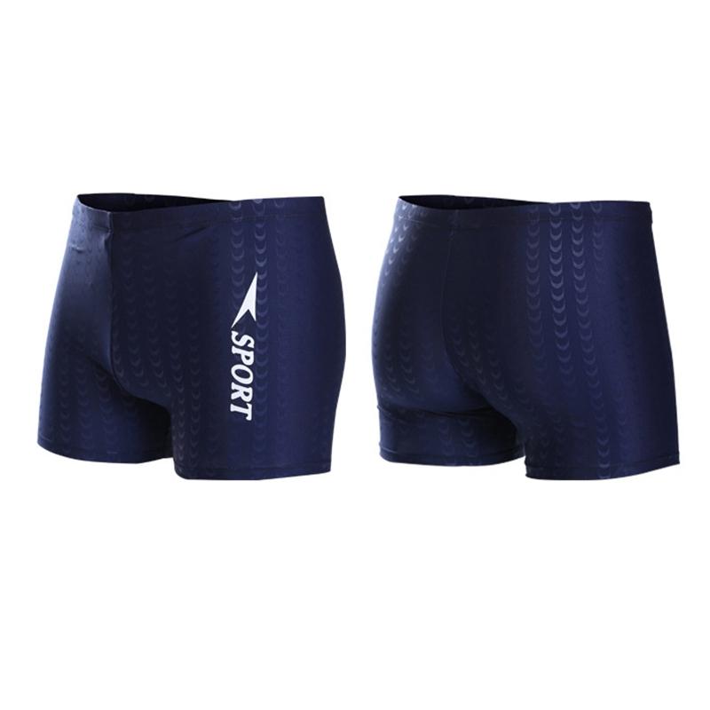 Costume-Da-Bagno-Boxer-Da-Uomo-Pantaloncini-Da-Bagno-Swim-Caps-Da-Uomo-A5A4 miniatura 11