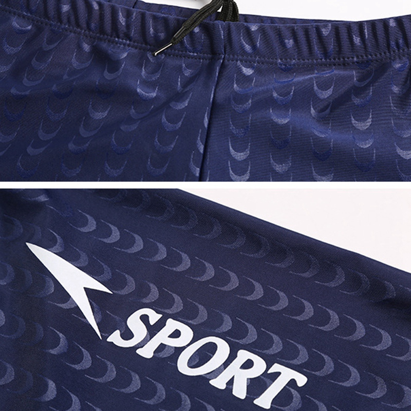 Traje-De-Bano-Boxer-para-Hombre-Pantalones-Cortos-De-NatacioN-Nadar-Medias-B8Z8 miniatura 13