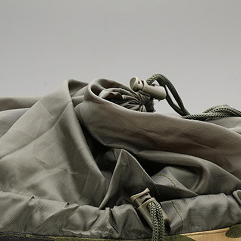 240058A1 4 - permeable Camuflaje Molle Mochila para Viajes Senderismo Camping Pesca J4J565L G