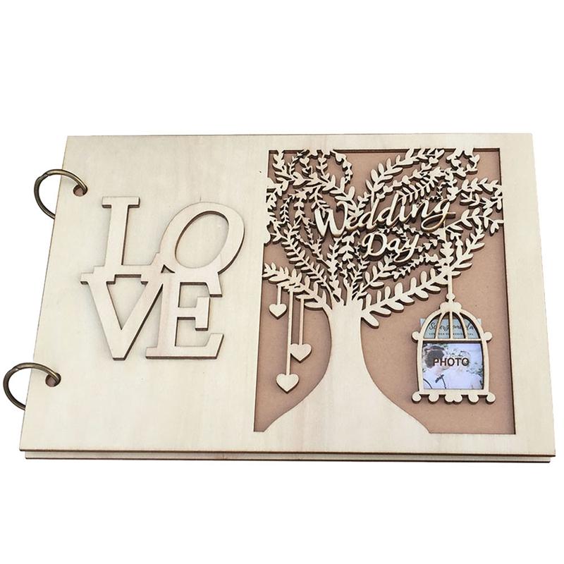 Details Sur Wedding Livre D Or Mariage En Bois Livre D Or Arbre De Mariage Livre D Or P U9h1