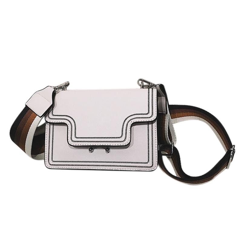 Gestickte Designer Handtaschen für Frauen mit Breitem Schultergurt Damen Kl S7U5
