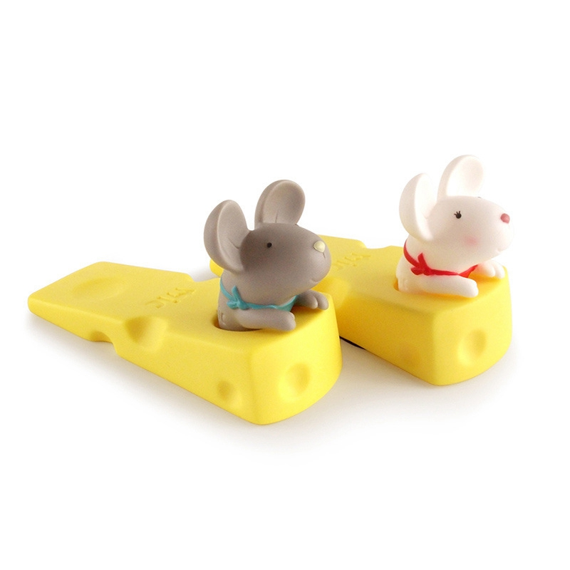 1X-Cute-Door-Stops-Cartoon-Creative-Silicone-Door-Stopper-Holder-Toys-For-CW8W7 thumbnail 3